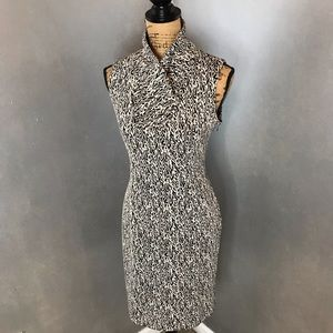 Calvin Klein Sleeveless Abstract Dress Size 8
